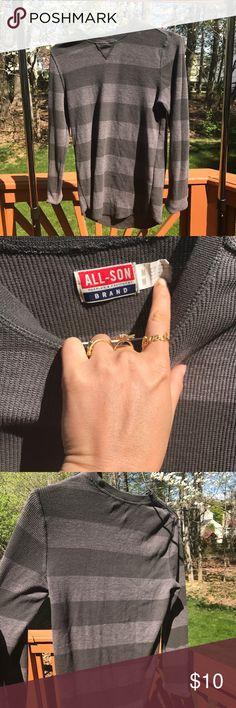 All Sona long sleeve stripped shirt Pics size medium all sons Shirts Tees - Long Sleeve