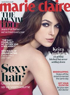 Keira Knightley for Marie Claire UK May 2013 | Art8ambys Blog
