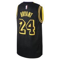 ab097bb42 Kobe Bryant City Edition Swingman Jersey (Los Angeles Lakers) Older  Kids Nike NBA Jersey - Black