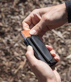 With side pocket for coins. RFID safe No more broken cards Key Wallet, Embossed Cards, Travel Bags, Chevron, Coins, Card Holder, Black, Pocket, Products