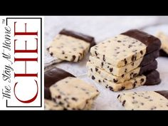 Chocolate Chip Shortbread Cookies are all the goodness of melt-in-your-mouth shortbread combined with a little bit of chocolate. Your family will love these .