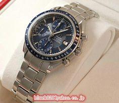 オメガスーパーコピー スピードマスター デイト 3212.80 Omega Watch, Bracelet Watch, Watches, Bracelets, Silver, Accessories, Wristwatches, Clocks, Bracelet