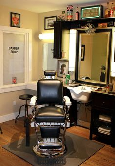 Home Barber Shop by hairguy34, via Flickr