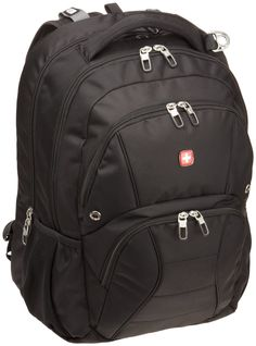Amazon.com: SwissGear SA1908 ScanSmart Backpack (Black) Fits Most 17 Inch Laptops: Computers & Accessories