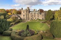 Bardon Mill, Hexham, Northumberland, a Luxury Home for Sale in Hexham, North East England - English Country Manor, English Manor Houses, English House, Welsh Country, Interesting Buildings, Beautiful Buildings, Beautiful Homes, English Estates, Sims