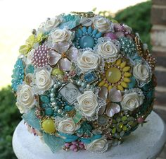 Brooch bouquets~ ♥