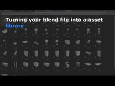 Turning your blend file into a asset library - Blender Tutorial - YouTube