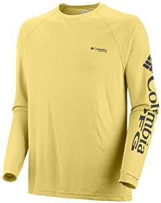bda0b0a8606 Amazon.com: Columbia Men's Terminal Tackle Long Sleeve Polo, Medium, White/