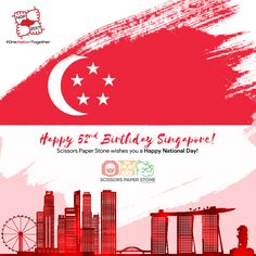 On 9 August 2017 Singapore completes 52 years as a sovereign, democratic and independent nation. Singapore separated from the Federation of Malaysia on 9 August Enjoy the celebration at National Day Parade and be a proud singaporean. Kids Hair Salon, Happy National Day, First Nations, Singapore, Salons, Celebration, Fun, Lounges, Hilarious