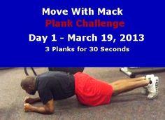 Move With Mack #Plank Challenge