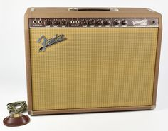 ⬅⬅⬅⬅RARE Vintage 1963 Pre-CBS Fender Vibroverb Brown Brownface Guitar Am