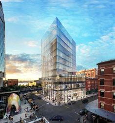 Delos Keen on Manhattan's Meatpacking District
