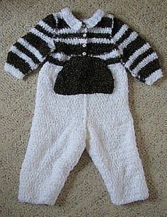 Download Free Crochet Pattern Boy's Romper Sewing Pattern | FREE PATTERN CLUB | YouCanMakeThis.com