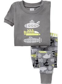 Submarine-Graphic PJ Sets for Baby