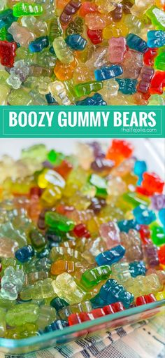 Vodka Gummy Bears This is an easy recipe for how to make Boozy Gummy Bears. They are super simple to make and are the perfect addition to any adult party. These are made with Whipped Cream Flavored Vodka, but you can use any alcohol that you'd like. Drunk Gummy Bears, Alcohol Gummy Bears, Alcohol Candy, Gummy Bear Shots, Snacks Für Party, Party Drinks, Fun Drinks, Yummy Drinks, Recipes