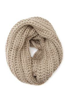 Chunky Knit Infinity Scarf | FOREVER21 - 1000100115