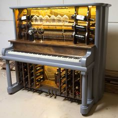 Piano bar created by Jim Lessard