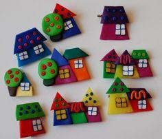 fimo houses