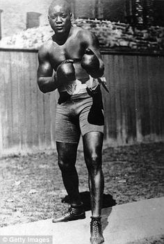 Jeff Powell's Greatest Fights: Jack Johnson v James Jeffries on July 4, 1910 | Daily Mail Online