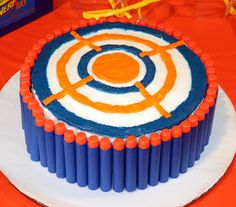 M y son, like many young boys, LOVES his Nerf guns, so when his birthday was approaching and I asked him what kind of party he wanted, hi...