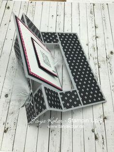 Fancy Folds Blog Hop Swing Card Karte