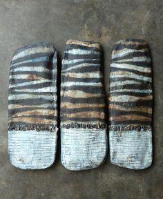 stoneware wall tablets~Brenda Holzke