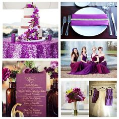 Radiant Orchid- #Radiant Orchid #wedding colour # wedding trends 2014