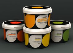 Paco Roncero's tapas sauces - packaging