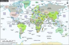 Large political map of world in hindi maps pinterest worldmap clickable political map of the world locating all countries of the world with their political boundaries gumiabroncs