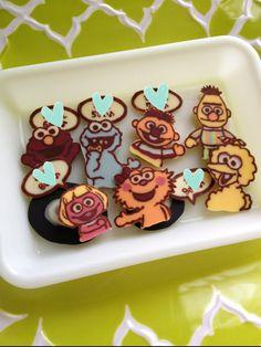 Sesame Street chocolate♡     #food #sweet #sesamestreet
