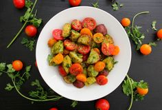 Chimichurri Potato & Tomato Salad