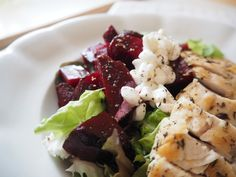 Salát z červené řepy se sýrem Cottage - My Cooking Diary Pasta Salad, Potato Salad, Detox, Potatoes, Cottage, Cooking, Ethnic Recipes, Olympus, Digital Camera