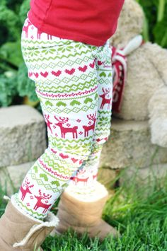 6c62883fd0638 Baby Leggings Girls Leggings Toddler Leggings Christmas Leggings Reindeer  Leggings Snowflake Leggings