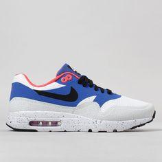 brand new d32db 13a7e Nike Air Max 1 Ultra Essential Shoes - White/Varsity Royal Air Max 1s,