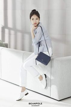 Love the dandy look! Kpop Fashion, Korean Fashion, Suzy Bae Fashion, Miss A Suzy, Best Photo Poses, Bae Suzy, Korean Celebrities, Celebs, Korean Beauty