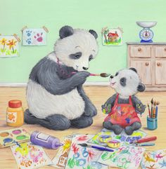 Leading Illustration & Publishing Agency based in London, New York & Marbella. Panda Art, My Animal, Design Crafts, Illustrators, Creepy, Sculptures, Creatures, New York, London