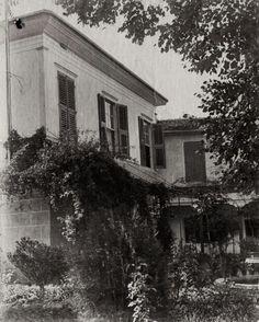 Weber Evi, Buca, İzmir. 20. yy. başı. / Caption: 'Weber house Boudja'. Caption, Yoga, House, Outdoor, Outdoors, Home, Captions, Outdoor Games, The Great Outdoors