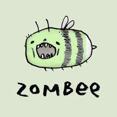 Zombee by Sophie Corrigan Illustration