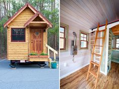 Exterior and Ladder - Weller by Wishbone Tiny Homes