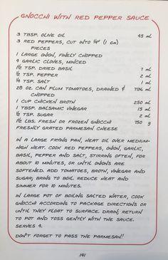 Canned Plums, Spaghetti Salad, Italian Menu, Red Pepper Sauce, Vegetarian Recipes, Healthy Recipes, Plum Tomatoes, Vintage Recipes, Balsamic Vinegar