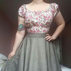 1758f3dbca9 Loving Rita! Sizing is spot-on. Followed the finished garment