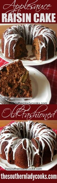 Applesauce Raisin Cake is great with or without icing. Serve it with coffee for dessert. It makes a great treat with milk anytime. Applesauce raisin cake is an old fashioned recipe that your family and …