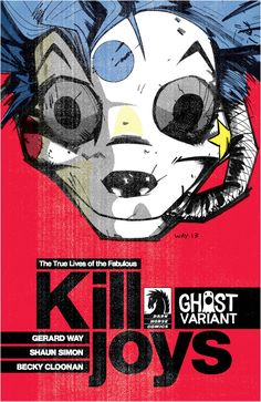 Gerard Way Illustrates 'The True Lives Of The Fabulous Killjoys' #1 Ghost Variant Cover