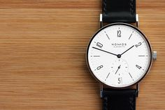 Hands-On: With The Nomos Tangente Datum, Winner Of A 2012 Good Design Award