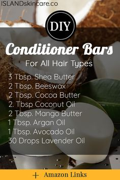 DIY - Conditioner Bars For All Hair Types As you can see, these. - DIY – Conditioner Bars For All Hair Types As you can see, these natural easy to - Diy Shampoo, Homemade Shampoo, Shampoo Bar, Homemade Body Wash, Best Natural Hair Products, Natural Hair Care, Natural Hair Styles, Natural Facial, Natural Soaps