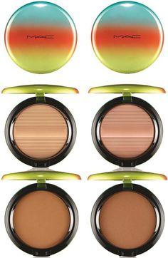 MAC Wash & Dry Summer 2015 Makeup Collection - Studio Sculpt Defining Bronzing Powder      Delicates