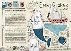 Atlas of Remote Islands - allison kerek illustration