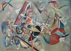 Wassily Kandinsky In Grey (Im Grau) 1919 Centre Pompidou, Paris. Musée national d'art moderne / centre de création industrielle. Bequest of Nina Kandinsky 1981