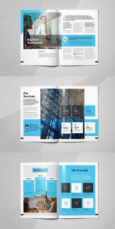 Business Brochure Vol 7 is part of Powerpoint design - Business Brochure Vol 7 template is a 16 pages Indesign template available in size Print ready or export and send to clients as a pdf Simply replace the Corporate Branding, Corporate Brochure Design, Brochure Layout, Business Brochure, Brochure Template, Indesign Templates, Corporate Business, Product Brochure, Identity Branding