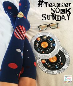 Sock Sunday: Planet Decoder Wheel!